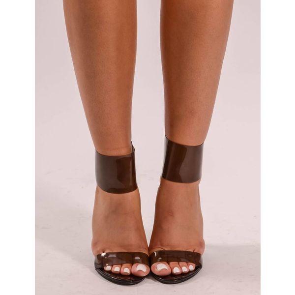 DV 211 See through black heel
