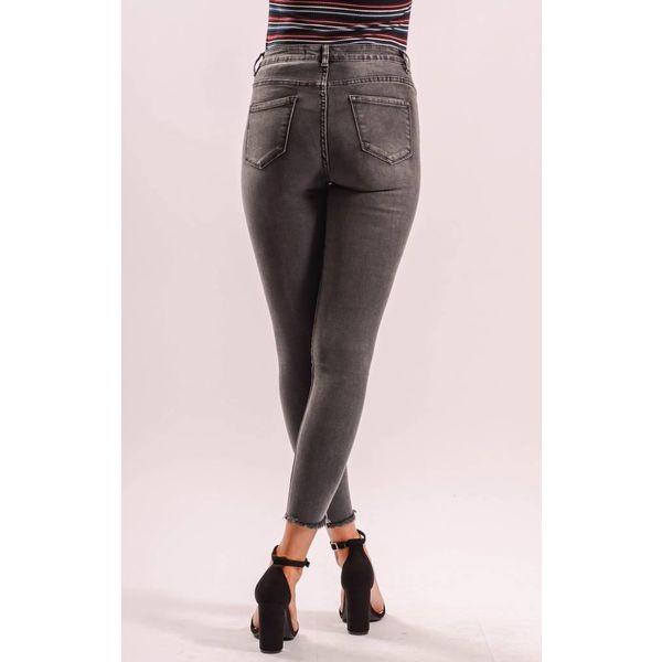 Highwaist jeans grey