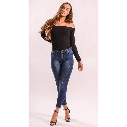 Highwaist jeans basic