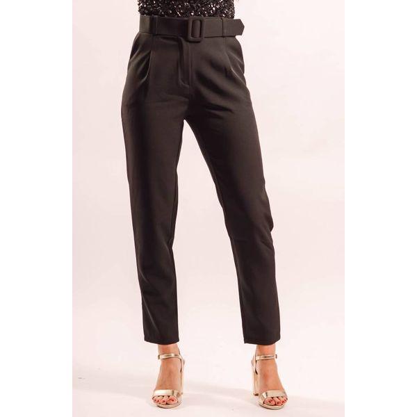 Pantalon belt black
