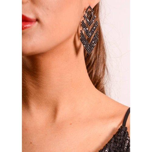 Earrings Triangle