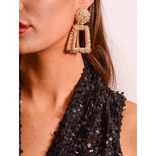 Earrings big Gold