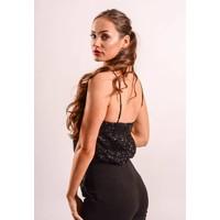 Body sequin black