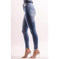 Superhighwaist jeans medium blue