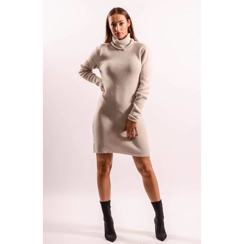 Dress high turtle neck offwhite