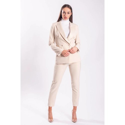 Blazer nude buttons