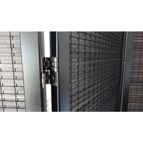 Zwart Kamerscherm 5 panelen