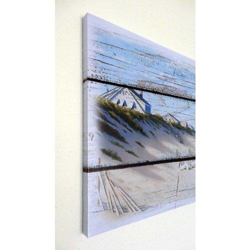 Canvas Schilderij Strand en Zee