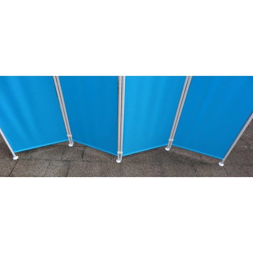 Kamerscherm Blauw Polyester Doek