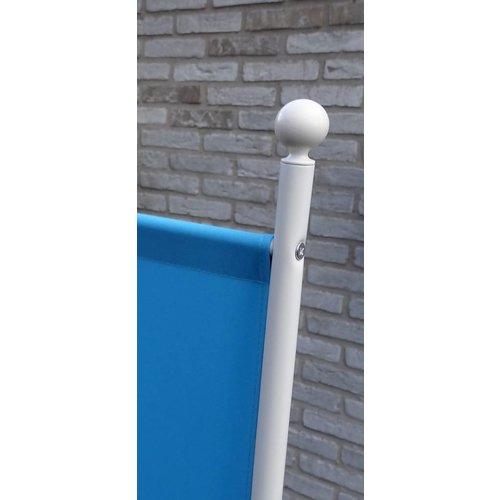 Kamerscherm Scheidingswand Blauw 3 Panelen