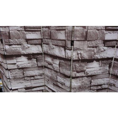 Kamerscherm Vouwscherm Stenen Muur Donker