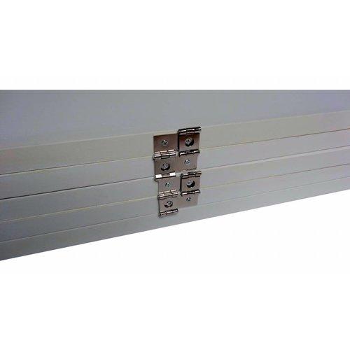 Wit Kamerscherm Blanco 5 panelen