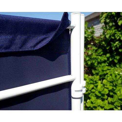 Breed Kamerscherm Donker Blauw