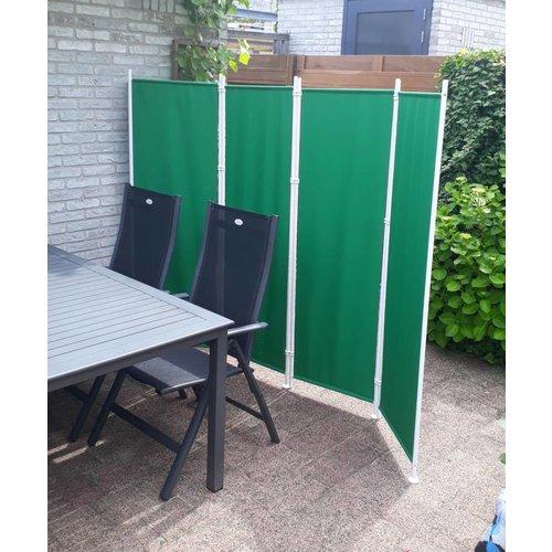 Kamerscherm 4 panelen Groen