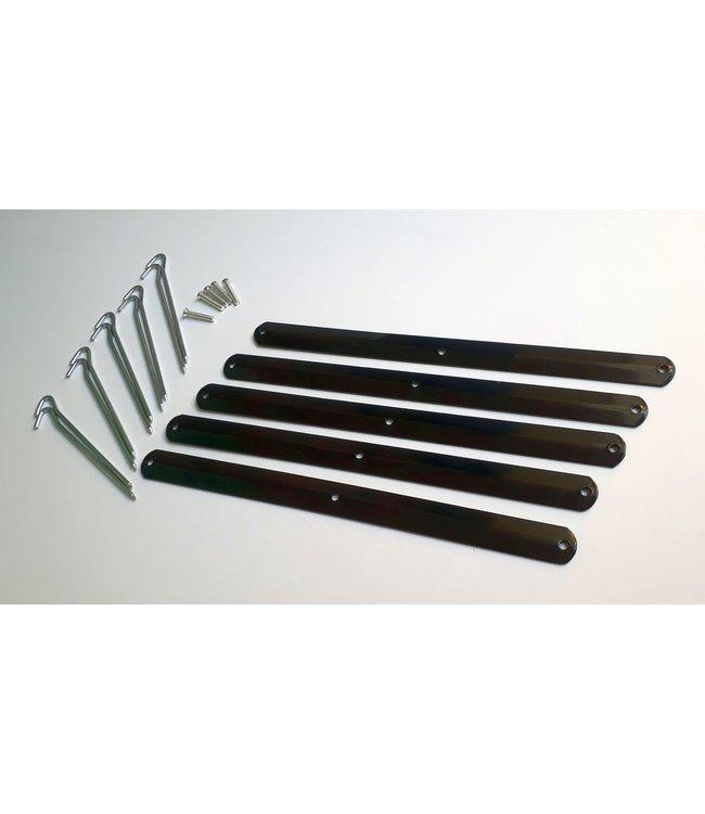 Metalen Voet Kamerscherm H802 lang