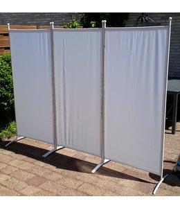 Scheidingswand Wit 3 Panelen