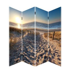Kamerscherm Paravent Strand en Duinen
