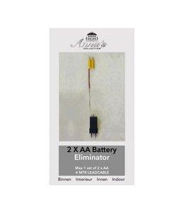 Battery Eliminator 2xAA