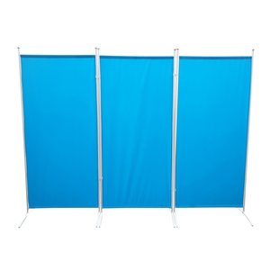 Scheidingswand Blauw 3 Panelen