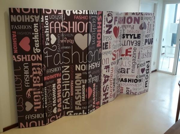 Canvas Kamerscherm Fashion