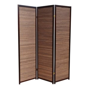 Kamerscherm Walnut 3 panelen