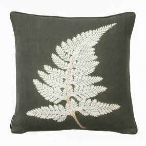 Pernille Folcarelli Fern white cushion - discontinued