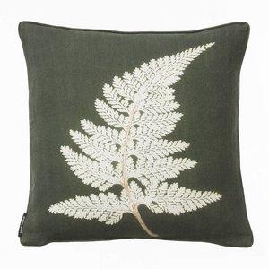 Pernille Folcarelli Fern white cushion - discontinued