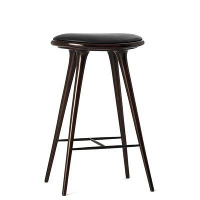 Mater High Stool dark stain