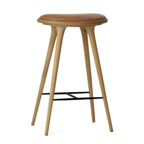 Mater High Stool soaped oak