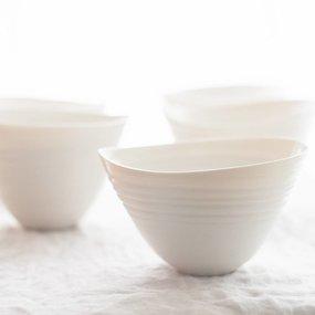 PTZE Porcelain studio kom Blaadje