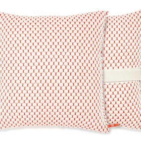 Orange Or Red Hills cushion