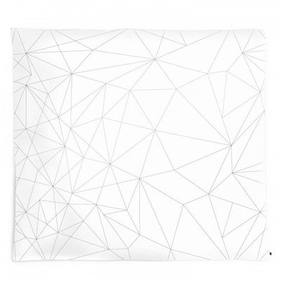 ooh noo Geometric Web duvet cover