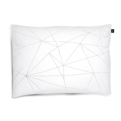 ooh noo Geometric Web pillowcase