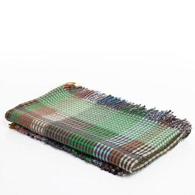 WallaceSewell Basket weave throw - Putney