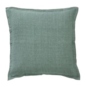 Bungalow linen Jade cushion