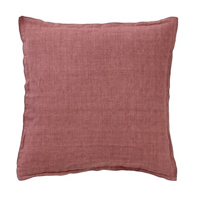 Bungalow linen redwood cushion