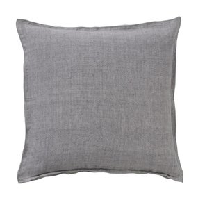 Bungalow linen Stone Grey cushion
