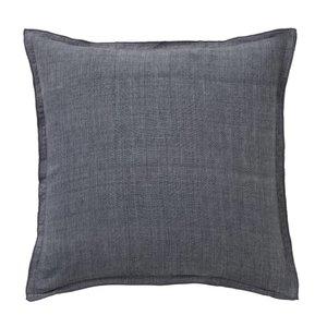 Bungalow linnen grijs kussen