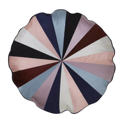 Bungalow round cushion Circus Navy