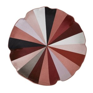 Bungalow round cushion Circus Navy Blush