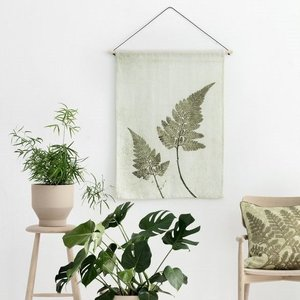 Pernille Folcarelli fern olive wallhanging