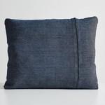 Woud Canvas cushion navy blue