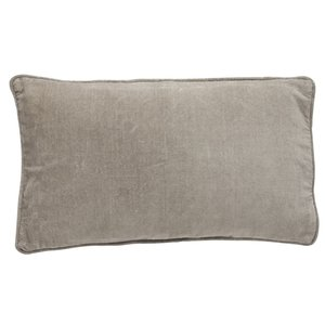 Bungalow velvet Sand cushion