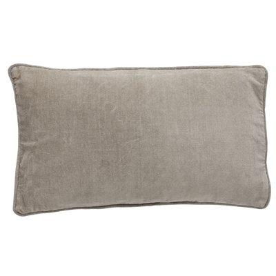 Bungalow velvet Sand cushion