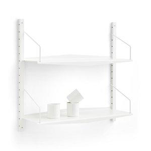 dk3 SYSTEM ULTRA®  WHITE shelving system