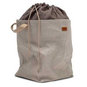 UASHMAMA® Positano laundry bag with linen top
