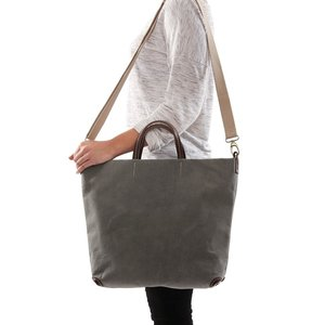 UASHMAMA® Alle bag dark grey