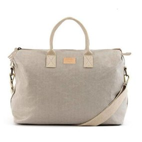 UASHMAMA® Roma weekend bag grey