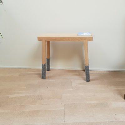 side by side Schemel stool - showroom model