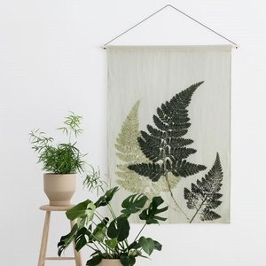 Pernille Folcarelli fern green wallhanging - showroom sample